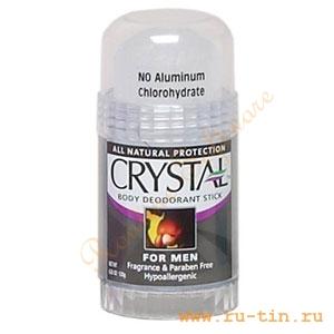 Дезодорант Crystal для мужчин 120 грамм, пр-во Таиланд