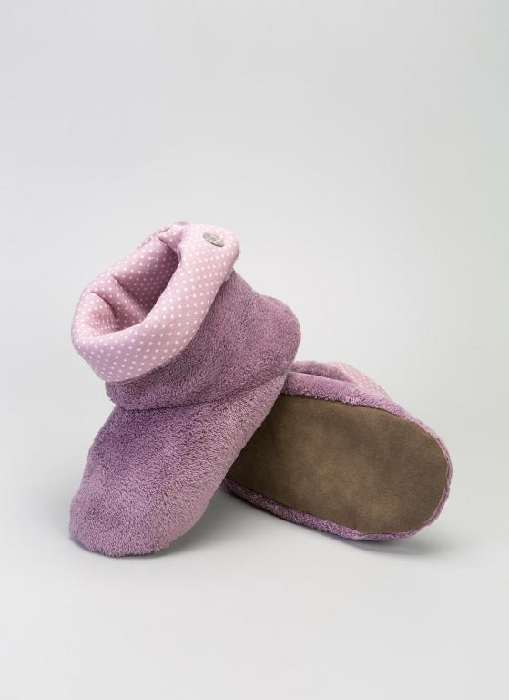 Тапочки-угги женские