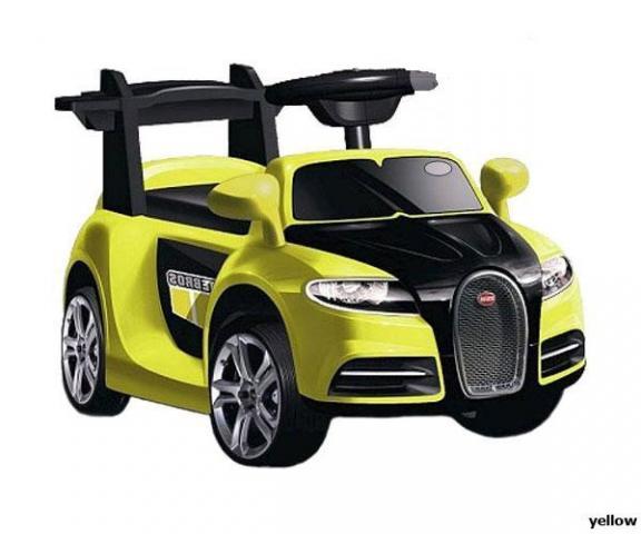 Детский электромобиль Jetem Bugatti 6V/12W (Жетем Бугатти)