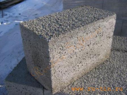 Полистиролбетон 500 (стеновой блок)