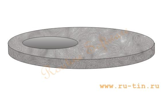 Крышка колодца КЦП-1-1