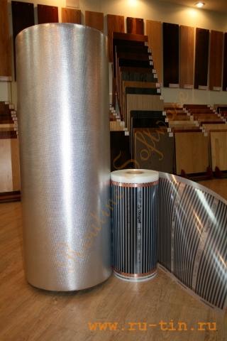 Теплопленка Obogreff 200/м2 Вт, 220 V, ширина 50 см